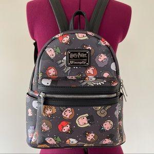Rare Loungefly Harry Potter Chibi Mini Backpack
